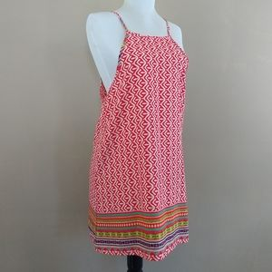 🌞Sun & Moon Tribal Mini Dress/Tunic Sz Small
